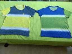 Duas camisas Polo Wear tamanho M