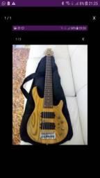 Contra baixo 6 cordas luthier