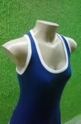 58b10ce41a Lote Camiseta Regata Nadador Feminina Atacado Academia Fitness Modinha