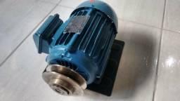 Motor de Indução Trifásico WEG 3CV Nunca Usado