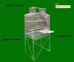 Viveiro duplex luxo papagaio