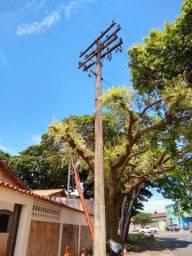 Poste de Rede elétrica