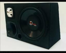 Caixa de som trio, 420w rms com alta fidelidade de sonorização