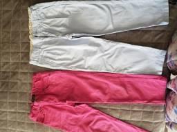 Lote Calças 4-6 anos Zara, Polo