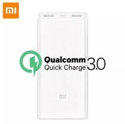 Carregador Portátil Original Xiaomi 20000mah Quick Charge3.0 Loja Fisica