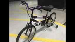 ee85ca8fb Bicicleta Meninas feminina aro 20 NOVA ZERO