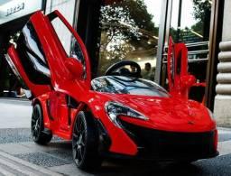 Carro Para Criança Motorizado Com Controle Remoto P1 McLaren 12v Vermelha