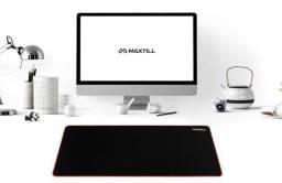 Mousepad Gamer Pro Maxtill Large Speed 80cm Preto com Vermelho - Loja Natan Abreu
