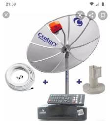 Antena com receptor