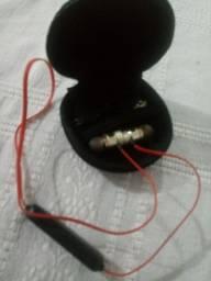 Fone bluetooth metal magnético