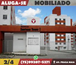 Santana Tower 2/4-Mobiliado-Av. Fraga Maia-Feira de Santana-Ba
