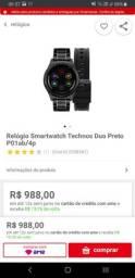 Relógio Technos Connect Duo Masculino