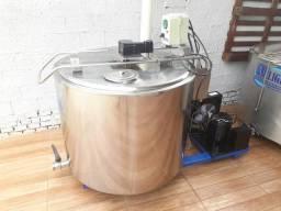 Resfriador 400 LITROS INOX LEITE TINA