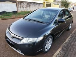 Honda New Civic LXS Completo Preto - 2008