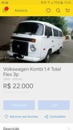 Volkswagem Kombi 1.4 Total Flex 3p - 2010