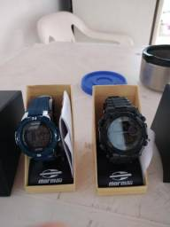 Relógio Mormaii na caixa