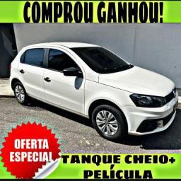 TANQUE CHEIO SO NA EMPORIUM CAR!!! GOL 1.0 G7 ANO 2017 COM MIL DE ENTRADA