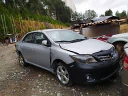 Sucata Toyota Corolla 2014 2.0 flex Automática P/Retirada de peças