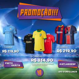 Título do anúncio: Camisas de time de futebol