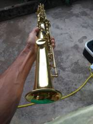 Saxofone soprano reto Custon