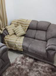 Jogo de sofá clássico