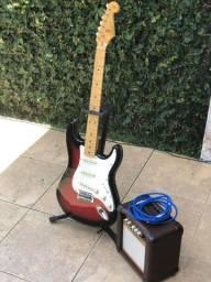 Guitarra SX + Cubinho Oneal