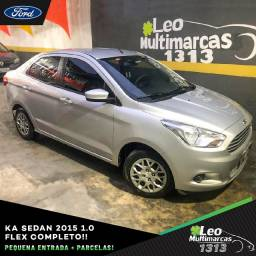 KA Sedan 2015 1.0 Flex Completo Mensais a partir de 599,00