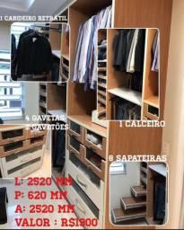 Closet - guarda roupa