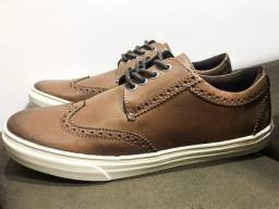 Sapato Mac & Jac Wingtips Couro Marrom - Nº 38