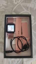 smartwatch P80 pouco tempo de uso
