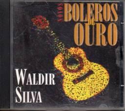 Cd - Novos Boleros De Ouro - Waldir Silva