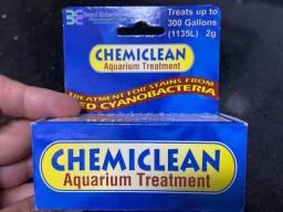 Chemiclean 2g - tratamento para cianobactérias aquario marinho