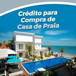?Compre sua casa na praia de forma parcelada