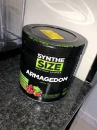Título do anúncio: Pré-treino sabor uva 400g Synthesize ARMAGEDOM