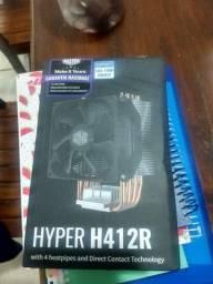 Cooler para Processador Cooler Master Hyper H412R - NOVO