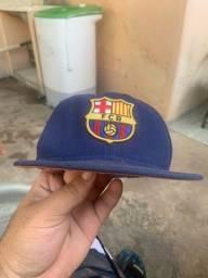 Título do anúncio: Boné aba reta Barcelona