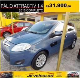 Título do anúncio: Palio attractiv 1.4 (2013 completo)