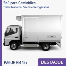 Título do anúncio: Baú Refrigerado e Baú Seco para Caminhão Modelo: Q 393