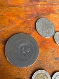 Título do anúncio: Moedas antigas colecao moeda