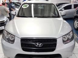 Hyundai santa fÉ 2008 2.7 mpfi gls v6 24v 200cv gasolina 4p automÁtico