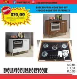Título do anúncio: Fogão Cooktop 5 Bocas Com Balcão Fit Mega Promoção