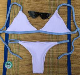 Modelo Tricot branco