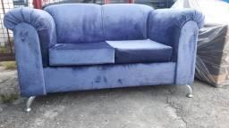 Título do anúncio: Esse Lindo sofá super confortável + um lindo Puff  pode ser seu por apenas 399,00