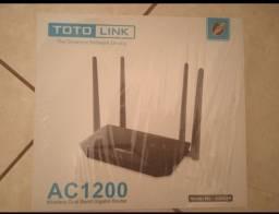 Título do anúncio: Roteador novo 4 antenas
