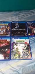 Jogos de PS4 troco