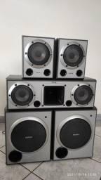 Título do anúncio: Kit caixas Muteki STR-1500