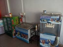 Vendo sorveteria completa