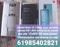 Título do anúncio: Remi Note 10 128G novo na caixa