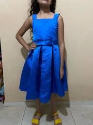 Título do anúncio: Vestido infantil azul royal