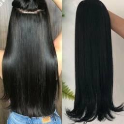 Título do anúncio: Vende-se um mega 65 cm na cor preto cabelo humano 1100